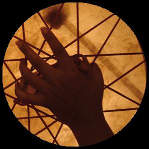 Galitta's Shamanic drum
