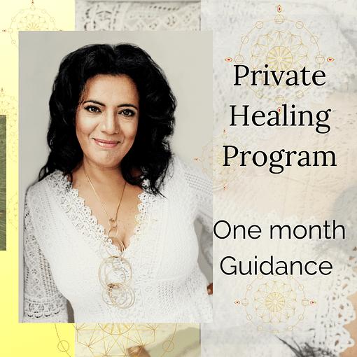 Private healing program with Galitta