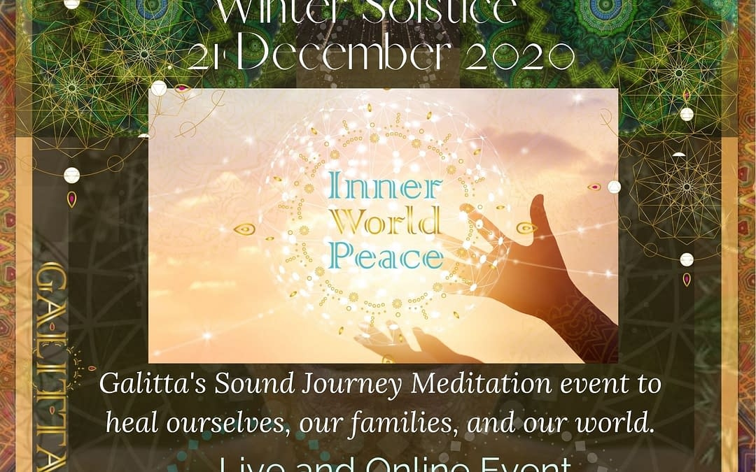 Inner World Peace- Sound Meditation Winter Solstice event